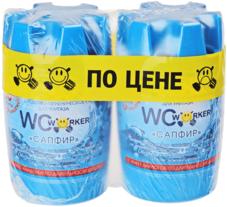 Гигиеническое средство для унитаза Сапфир 2*145г