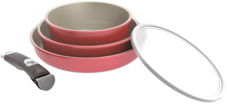 Набор литой посуды с керамическим покрытием