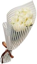 Пленка для упаковки цветов Белая