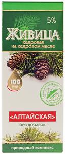 Живица кедровая Алтайская 5% 100мл