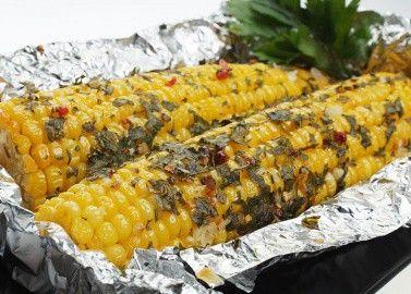 Запеченая кукуруза