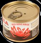 Мясо краба Камчатка консервированное 240г