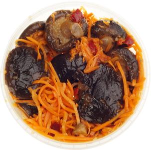 Грибы шиитаке по-корейски 200г