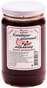Мармелад Клюквенно-яблочный 390г