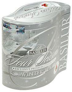 Чай Базилур Зимний с клюквой 125г