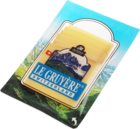 Сыр Грюйер нарезка 45% жир., 140г