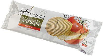 Хлебцы хрустящие томатные 70г