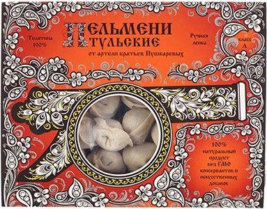 Пельмени Тульские из телятины 450г