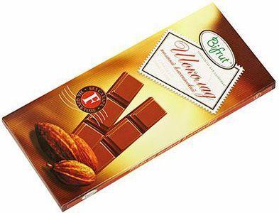 Шоколад темный классический на фруктозе, 100г