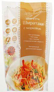 Спагетти Ширатаки с морковью 340г