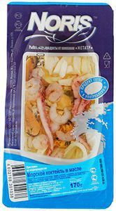 Коктейль из морепродуктов 170г