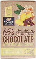 Шоколад горький с имбирем 90г