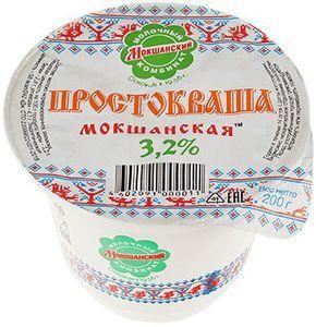 Простокваша Мокшанская 3,2% жир., 200г