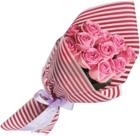 Пленка для упаковки цветов Темно-красная