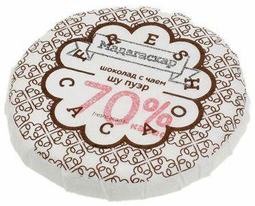 Шоколад с чаем Шу Пуэр 70% какао 50г
