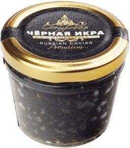 Икра чёрная осетровая Деликатеска.ру 100г