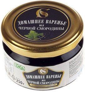 Варенье домашнее из черной смородины 250г