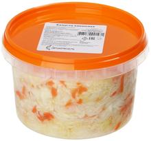 Капуста квашеная с морковью ГОСТ 500г