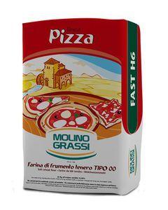 Пшеничная мука для пиццы 00 1кг