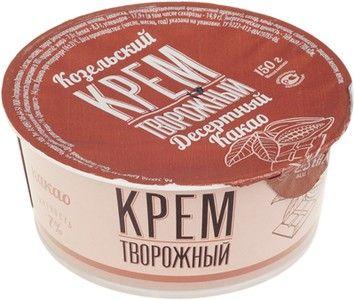 Крем творожный какао 7% жир., 150г
