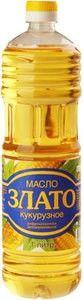 Масло кукурузное Злато 1л