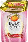 Крем-мыло для тела с экстрактом листьев персика 1л