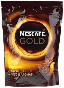 Кофе Нескафе Голд растворимый сублимированный 150г zip, Россия  (4194)