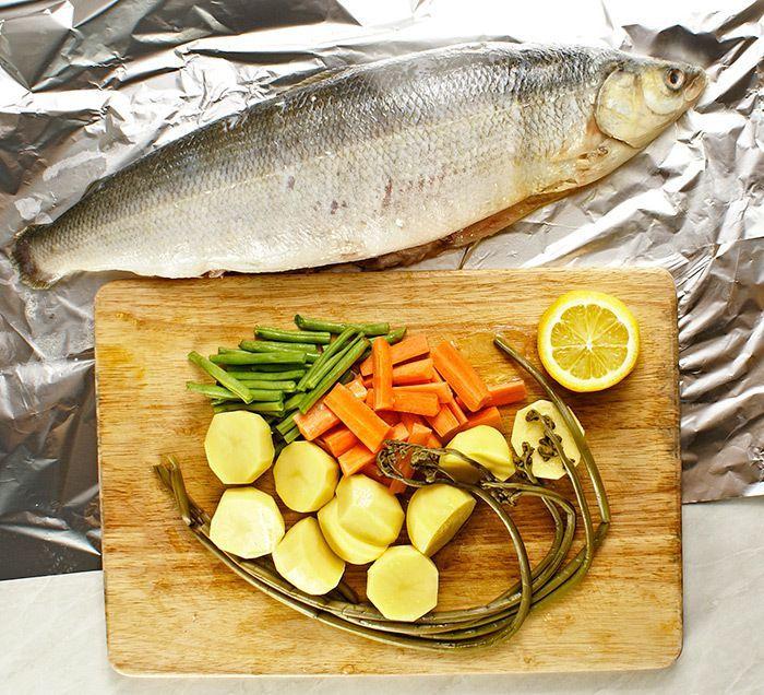Рецепты омуля в духовке в фольге