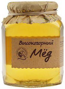 Высокогорный мед натуральный 500г
