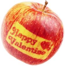 Яблоко Счастливый Валентин 1шт