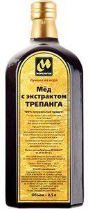Мед с экстрактом трепанга 500мл