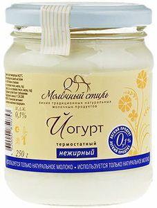 Йогурт нежирный термостатный 0,1% жир., 250г