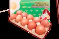 Яйца куриные деревенские, 10шт