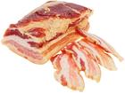 Грудинка свиная сырокопченая ~400г