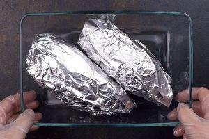 Уложить в форму для запекания и поставить в разогретую до 200С духовку на 40-50 минут.