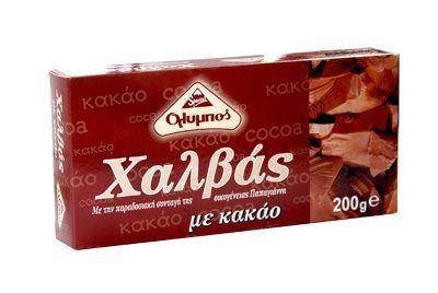 Халва тахинная с какао 200г