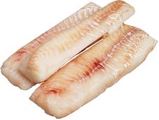 Филе трески без кожи коробка 3,4кг