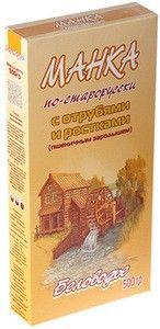 Манка по-старорусски с отрубями и зародышем 500г