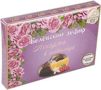Белевский зефир в шоколаде Ассорти 250г