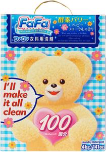 Стиральный порошок детский c цветочным ароматом 4кг