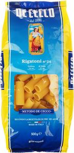 Паста Ригатони De Cecco №24 500г