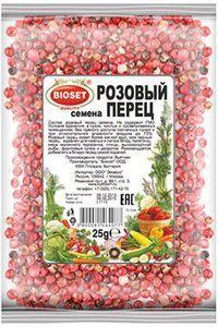 Перец розовый семена 25г