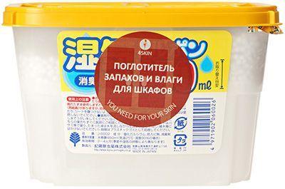 Поглотитель запаха и влаги для шкафов 450мл