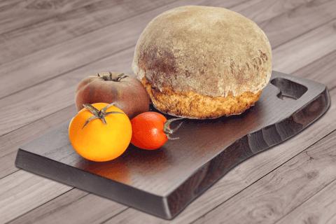 Домашний хлеб на темном пиве