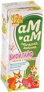 Бифилайф малина-шиповник 2,5% жир., 210г