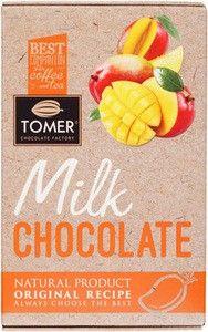Шоколад молочный с манго 90г