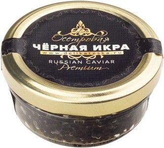 Икра черная осетровая Деликатеска.ру  50г