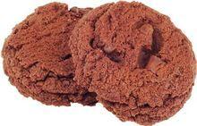 Печенье шоколадное с кусочками шоколада 126г