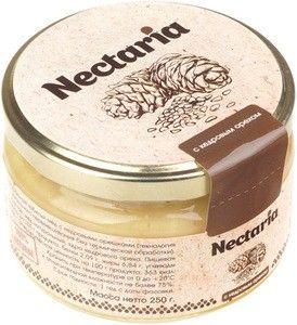 Мед натуральный взбитый с кедровым орехом 250г