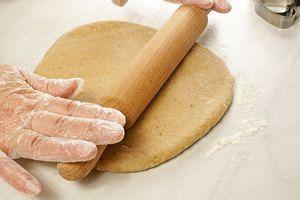 Раскатать тесто толщиной 1-1,5см